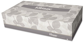 "Picture of item 886-204 a KLEENEX® Facial Tissue Junior.  8.4"" x 5.5"" Tissue.  White Color.  65 Sheets/Box."