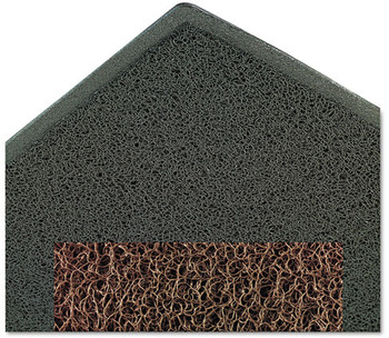 Picture of item MMM-34843 a 3M Dirt Stop™ Scraper Mat, Polypropylene, 48 x 72, Slate Gray
