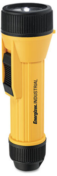 Energizer® 2 D Industrial Flashlight, Yellow/Black