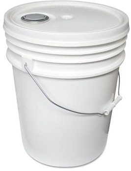 Picture of item IMP-5515P a Impact® Utility Bucket, Polyethylene, 5gal, White