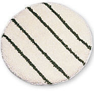 "Picture of item 965-120 a Rubbermaid® Commercial Low Profile Scrub-Strip Carpet Bonnets.  19"" Diam."