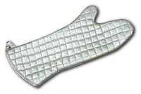 Picture of item 966-349 a OVEN MITT 17  SILICONE TREATED.