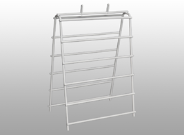 Picture of item 969-999 a Saddle Pak wire stand. For saddle bags.