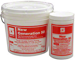 Picture of item 681-116 a New Generation 50® Bright Gray.  Primes and seals concrete in just one coat.  1 Gallon.