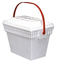 Picture of item 969-682 a COOLER W/FLEX-A-STRAP HANDLE. HOLDS 24-12 OZ CANS.
