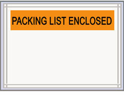 "Picture of item 969-329 a Packing List Envelope.  4-1/2"" x 5-1/2""."